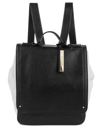 Kenneth Cole Reaction - Black Structure Backpack - Lyst
