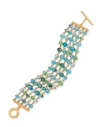 Carolee | Metallic Beaded Bracelet | Lyst