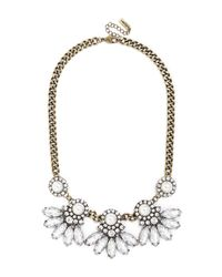 BaubleBar - Metallic Pearl Aster Collar - Lyst