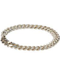 A.P.C. - Metallic Silver Jarvis Bracelet for Men - Lyst