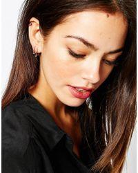 Luv Aj - Metallic Silver Pandura Multi Hoop Earrings - Lyst