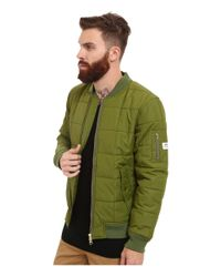 Wesc - Green Rami Padded Jacket for Men - Lyst