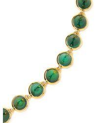 Eddie Borgo - Green Small Gemstone Cone Necklace - Lyst