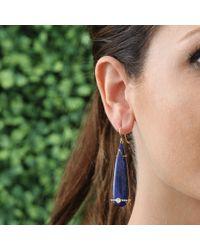 Jemma Wynne | Blue Pear Shape Lapis Earrings | Lyst