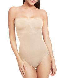 Wacoal | Natural Strapless Bodybriefer | Lyst