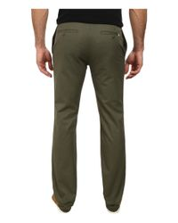 Lacoste | Green Regular Fit Twill Chino for Men | Lyst