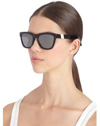 Westward Leaning - Wintermute Square Acetate Aluminum Sunglassesblack - Lyst