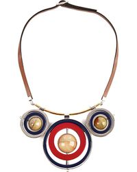 Marni | Red Metal Necklace | Lyst