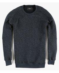 Cwst | Blue Miramar Crew Sweater for Men | Lyst