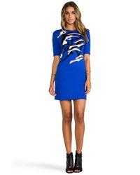 Camilla & Marc - Blue Dream Knit Dress in Royal - Lyst