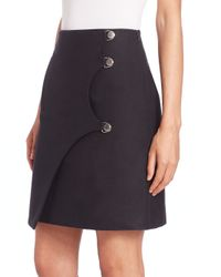 Opening Ceremony - Black Mia Side-snap Skirt - Lyst