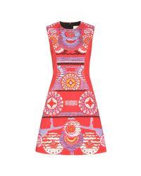 Peter Pilotto | Red Nova Abstract-Print Dress | Lyst