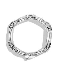 David Yurman | Metallic Oval Large Link Bracelet | Lyst