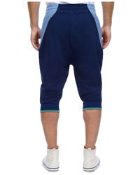 2xist | Blue Men's Rugby Cropped Lounge Pants for Men | Lyst