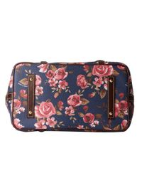 Dooney & Bourke - Blue Cabbage Rose East/West Shopper - Lyst
