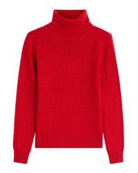 Vanessa Bruno | Blue Wool-cashmere Turtleneck - Red | Lyst