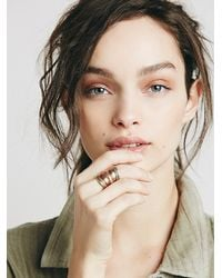 Free People | Pink Womens Relic Ring | Lyst