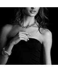 David Yurman - Metallic Renaissance Bracelet with Peridot and Tanzanite in Gold - Lyst