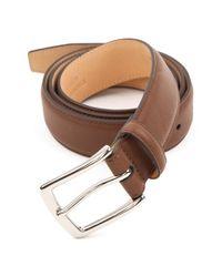 Trafalgar - Brown 'manchester' Leather Belt for Men - Lyst