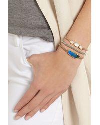 Brooke Gregson - Blue 18karat Gold Boulder Opal Bracelet - Lyst