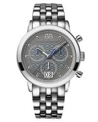 88 Rue Du Rhone | Metallic Mens Double 8 Origin Quartz Chronograph Bracelet Watch for Men | Lyst