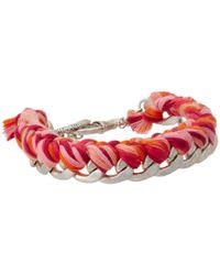 The Sak | Pink Leaf Charm Stretch Bracelet Set | Lyst