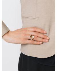 Rosa Maria   Metallic 'Mina' Ring   Lyst