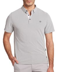 AG Green Label | Gray The Links Polo for Men | Lyst