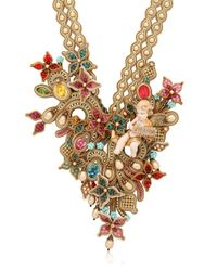 Dori Csengeri | Metallic Baroque Necklace | Lyst