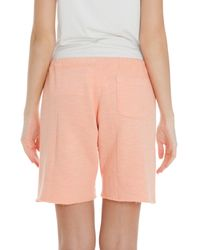 CLU - Orange Basic Sweat Shorts - Lyst