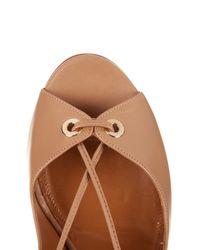 Aquazzura   Brown Biscotto Tango Sandal   Lyst