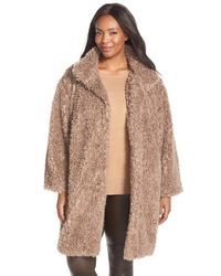 Gallery | Brown 'teddy' Faux Fur Coat | Lyst