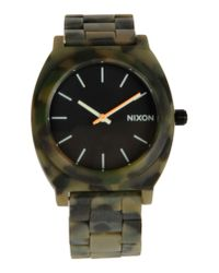 Nixon - Green Wrist Watch for Men - Lyst