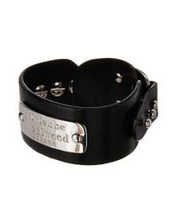 Vivienne Westwood | Black Jack Leather Cuff for Men | Lyst