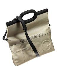 Pinko   Metallic Handbag   Lyst