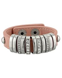Jessica Simpson - Metallic Shake It Up Slider Bracelet - Lyst