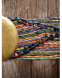 Free People - Multicolor Vintage Raffia Belt - Lyst