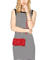 kate spade new york | Red Julia Street Rina | Lyst
