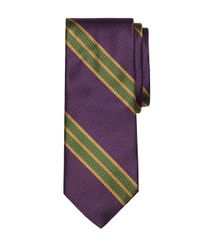 Brooks Brothers | Purple Large Bb#2 Stripe Tie for Men | Lyst