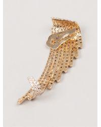 Joanna Laura Constantine - Metallic Wing Earrings - Lyst
