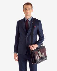 Ted Baker | Black Nylon Document Bag for Men | Lyst