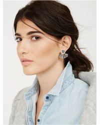 BaubleBar - Blue Versailles Ear Jackets - Lyst