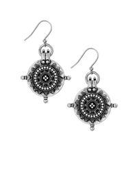 Lucky Brand | Metallic Tribal Drop Earrings | Lyst