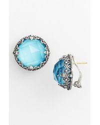 Konstantino | Blue 'aegean' Stud Earrings | Lyst