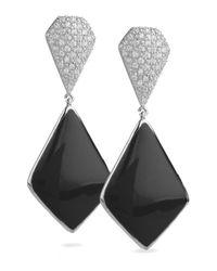 Miriam Salat - Black Imperial Earrings - Lyst