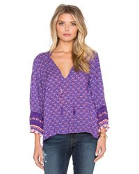 Spell & The Gypsy Collective | Blue Sunset Road Blouse | Lyst