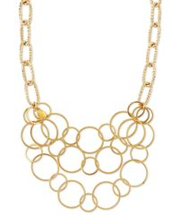 Devon Leigh | Metallic Multi-chain Gold-plated Necklace | Lyst