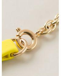 Marc By Marc Jacobs | Metallic 'bow Tie With Arrow' Bracelet | Lyst