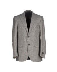 Corneliani - Gray Blazer for Men - Lyst