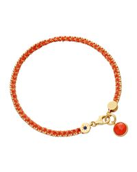Astley Clarke - Orange Rebel Rebel Bracelet With Coral - Lyst